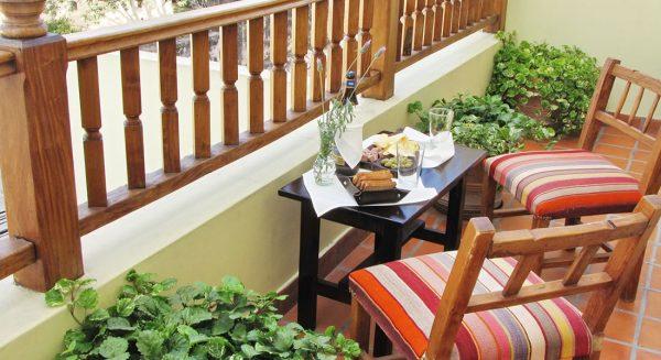 Hotel Altos de Balcarce - Balcón habitación triple