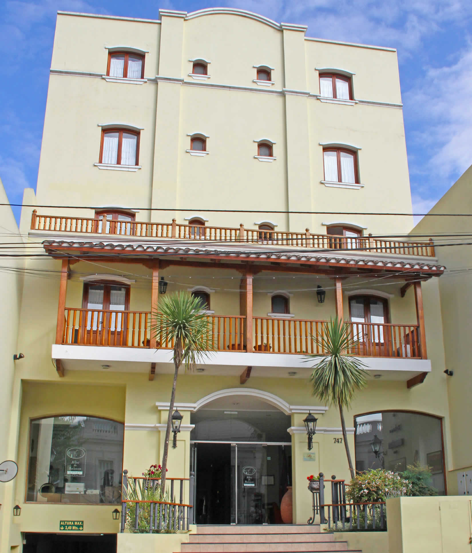Hotel Altos de Balcarce - Salta