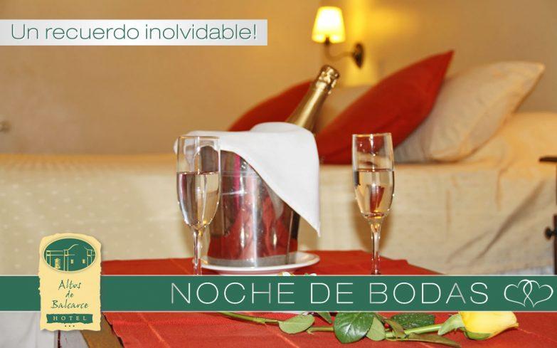 Hotel Altos de Balcarce - Noche de Bodas