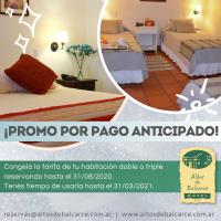 Hotel Altos de Balcarce • Promoción por pago anticipado