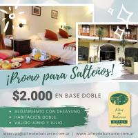Hotel Altos de Balcarce • Promoción para salteños